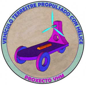 Logo do proxecto do coche con hélice