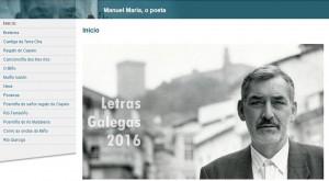 Poeta Manuel María