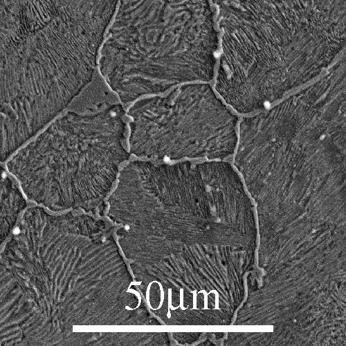 Micrografías de materiais