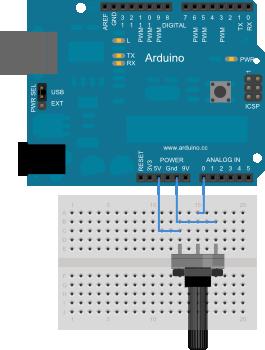 Arduino. Exemplo 4: Lectura de datos