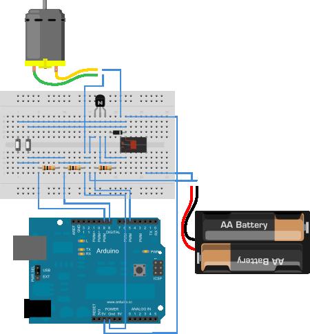 Arduino. Exemplo 7: Control de motor con relé