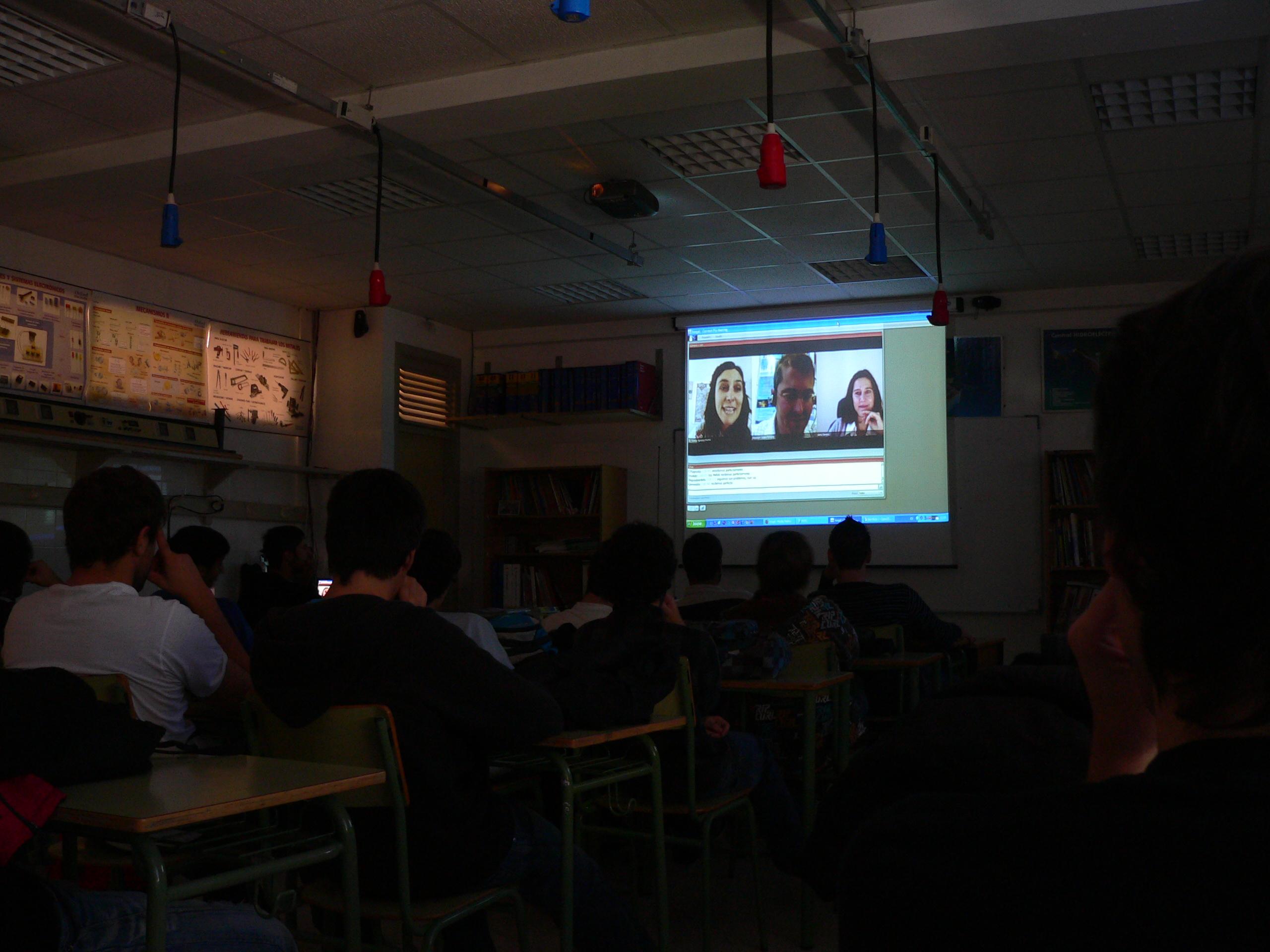 Videoconferencia: Do CERN a Compostela coa Física de Partículas