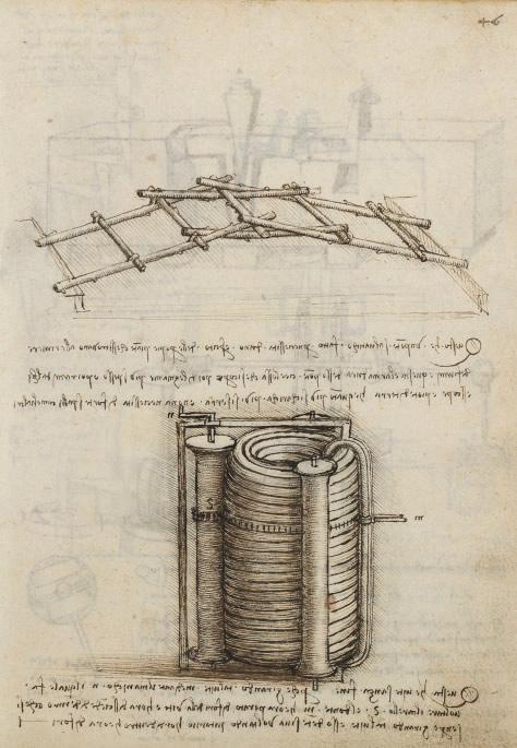 Lámina f46r dos códices de Madrid