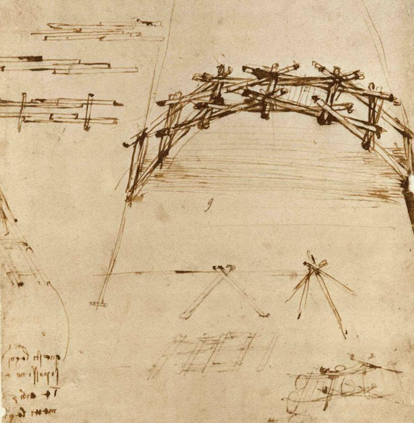 Ponte desmontable de Leonardo da Vinci (II)