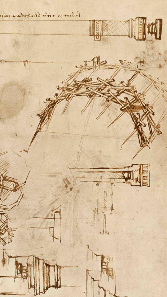 Lámina do códice Atlántico 71v