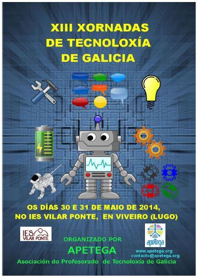 cartel xornadas tecnoloxia 2014